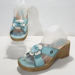 Born Floral Slide Sandals
